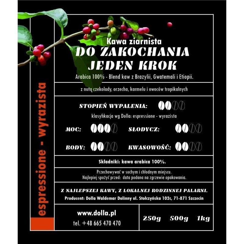 Kawa ziarnista i mielona Dolla -  Do Zakochania Jeden Krok 1