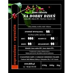 Kawa ziarnista i mielona Dolla -  Na Dobry Dzień