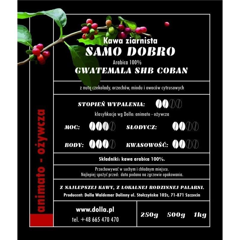 Kawa Dolla ziarnista i mielona - Samo Dobro