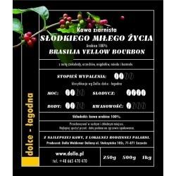 Kawa ziarnista i mielona Dolla - Słodkiego Miłego Życia