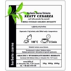 Szaty Cesarza - herbata czarna