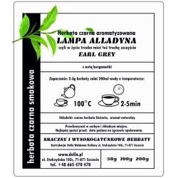 Lampa Alladyna - herbata...