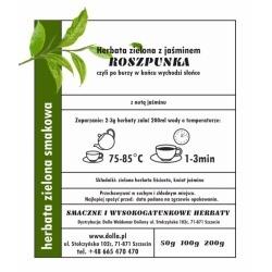 Roszpunka - herbata zielona...